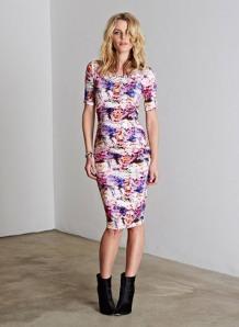 Vivien print dress