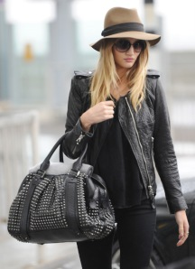 Rosie Huntington has an impressive selection!