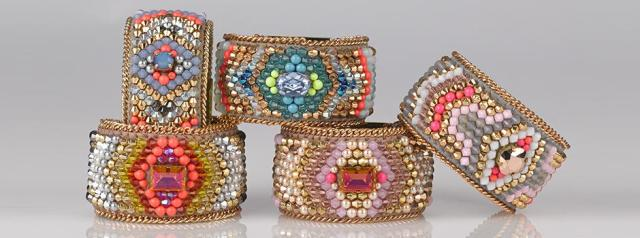 SS14 Buba Jewellery collection - Cuffs