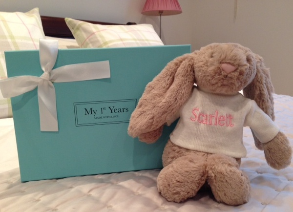 Personalised Jellycat Rabbit Soft Toy, £20