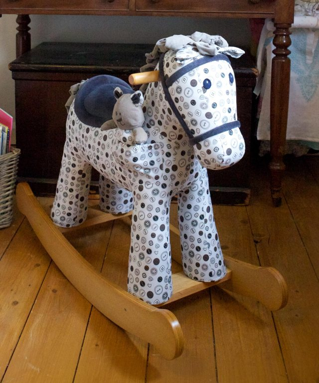 Dylan and Boo Rocking Horse, £125
