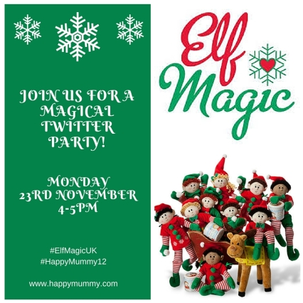 Elf Magic Twitter Party Invite